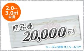 20000円クーポン