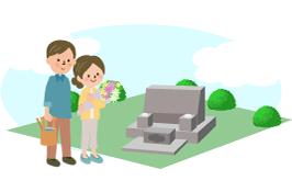 お墓や墓石の種類
