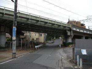 武蔵野線高架橋