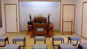 いちかわ大町霊園の祭壇