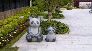 いちかわ大町霊園のパンダ