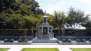 市川市「いちかわ大町霊園・樹木区画」の永代供養墓と合祀墓